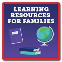 Online learning resources available for students and families.