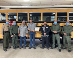 Smith County Schools Transportation Department receives Certificate of Excellence