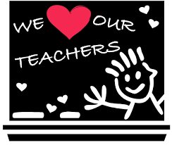 We (heart) our teachers