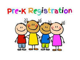 Pre-K registration and kids