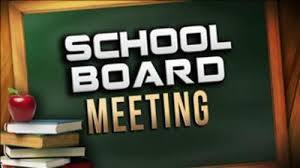 blackboard school board meeting